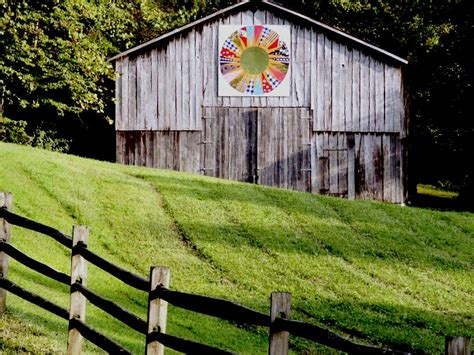 Quilt Barns by Barn Quilts In Garrett County Pictures Barn Quilts