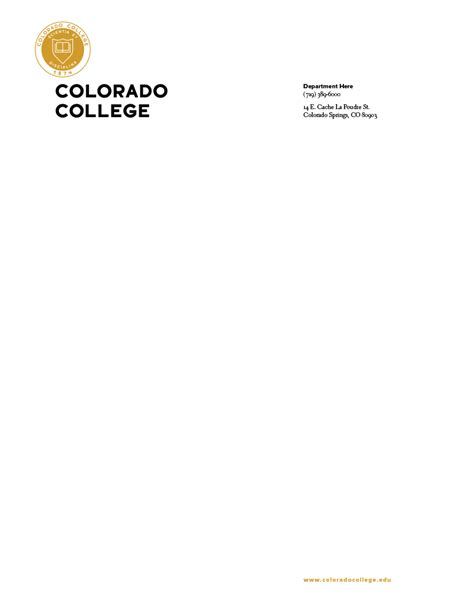 Ministry Of Finance Letterhead order letterhead communications colorado college