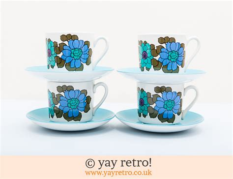 What Does Your Coffee Say About You by Katrina 60s 70s Tea Set Vintage Shop Retro China
