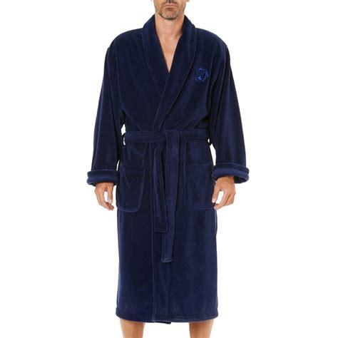 robe de chambre homme arthur robe de chambre arthur en polaire bleu nuit rue des hommes