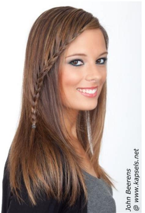 haarstijlen lang haar vrouwen - Haarstijlen Vrouwen
