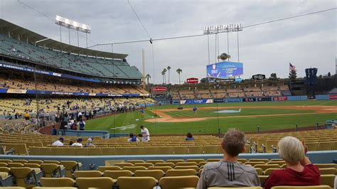 section 8 and 15 dodger stadium section 8 rateyourseats com
