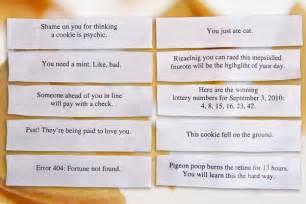 printable fortune cookie quotes quotesgram