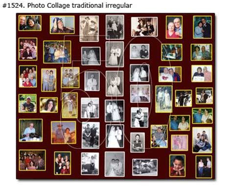 Traditional Photollages Samples