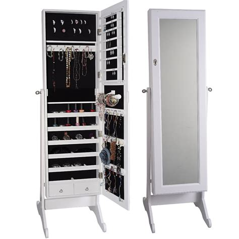jewelry organizer armoire full length mirror jewelry armoire caymancode
