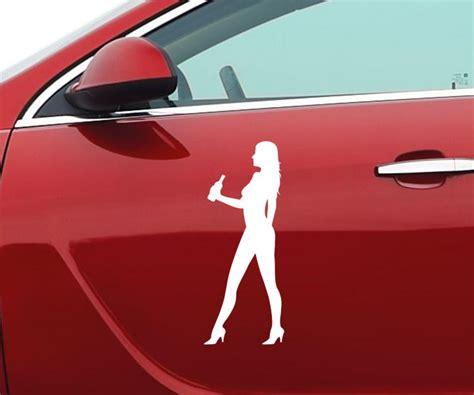 Auto Sticker Frauen by Autoaufkleber Frau Gef 252 Hle Liebe Auto Sticker