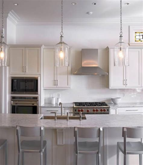 clear glass pendant lights for kitchen island 2018 15 best collection of pendant lighting island