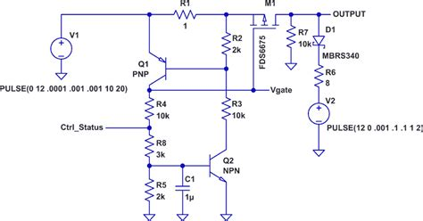 solid state circuit breaker for microcontrollers
