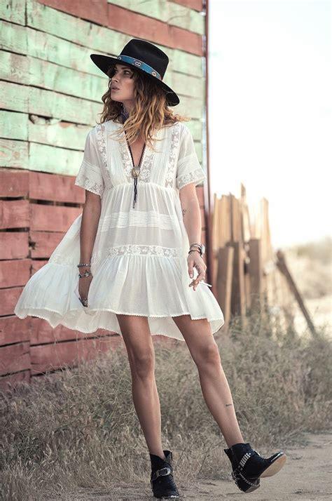 Dress Blanc Brukat acheter gros casual fit summer dress femmes coton