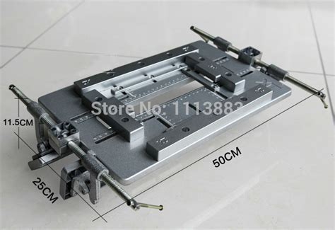 adjustable door hinge aluminium template jig slotting