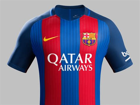 barcelona uniform fc barcelona and qatar airways announce shirt sponsorship