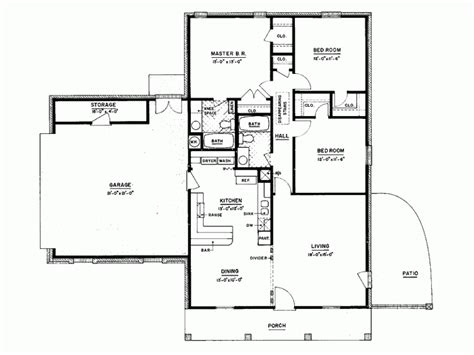 4 bedroom house blueprints modern 3 bedroom house plans 3