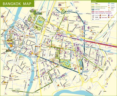 bangkok map about bts bangkok thailand airport map detail bangkok map for travelers guide