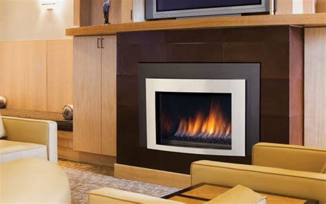 contemporary gas fireplace insert emberwest fireplace