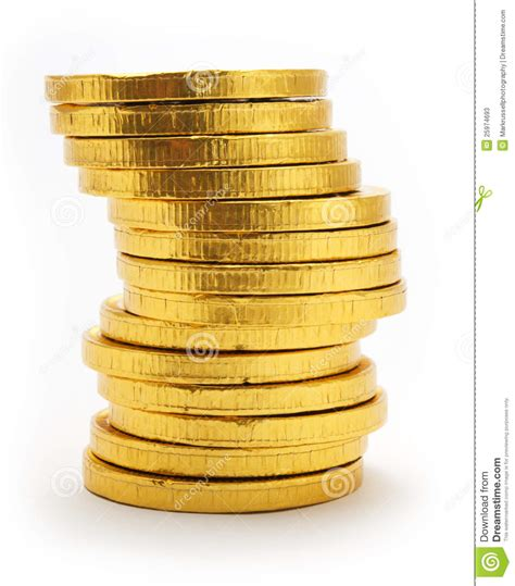 stack silver get gold how to buy gold and silver bullion without getting ripped books stack of gold coloured chocolate coins stock photos