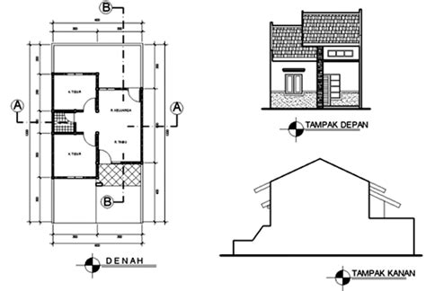 10 gambar sketsa rumah minimalis sederhana terbaru