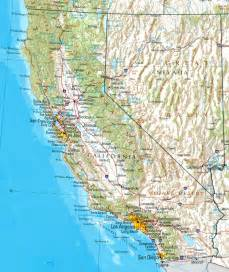 california reference map
