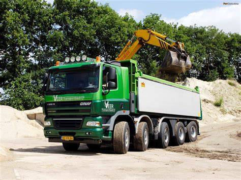 pictures x pictures of ginaf x5250 ts tipper 1600x1200