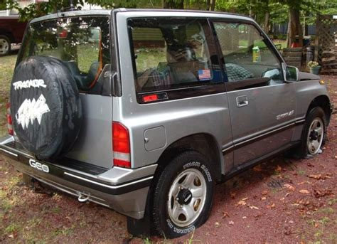 how cars engines work 1994 geo tracker navigation system 1994 geo tracker lsi for parts or restoration only 78 586 miles classic geo tracker lsi 1994