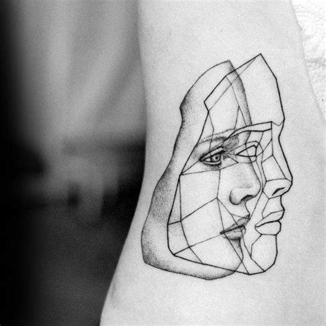 small abstract tattoos 50 small unique tattoos for cool compact design ideas