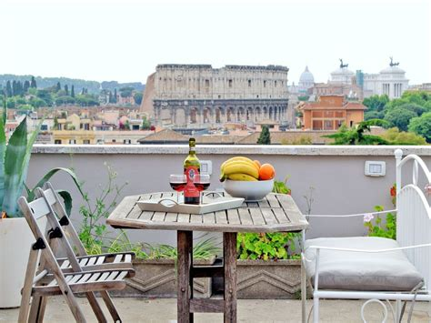 rome appartments rome apartment rentals colosseum view roof vrbo