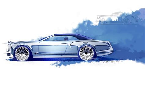 new bentley mulsanne coupe bentley previews new mulsanne convertible concept shows