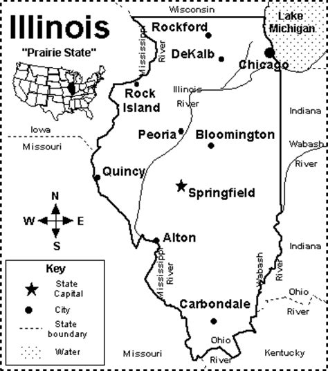 chicago map quiz illinois map quiz printout enchantedlearning