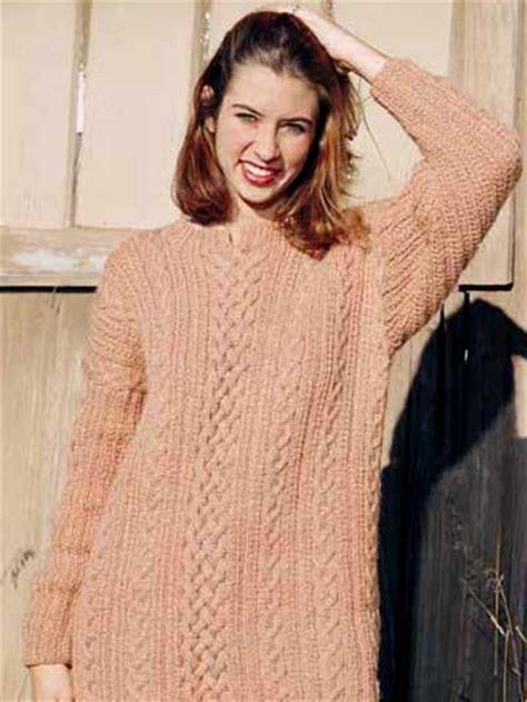 free knit sweater patterns free sleeved sweater knitting patterns braided