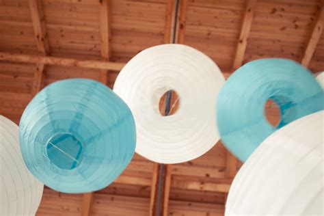 Paper Lantern Ideas - white aqua paper lanterns wedding ideas the sweetest