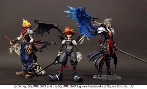 Play Arts Kingdom Hearts Cloud Strife Sephiroth Figure buy figure kingdom hearts 2 play arts