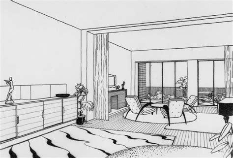 disegno interni architetture moderne e mobili moderni nella napoli