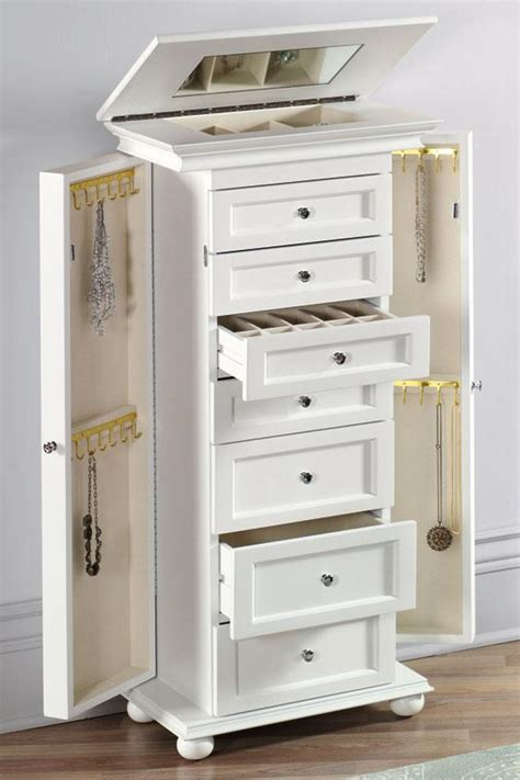 jewelry armoire uk hton bay jewelry armoire jewelry armoires bedroom