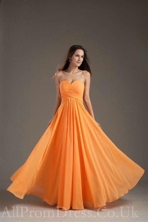 Dress Wanita Orange bridesmaid dresses by color orange bridesmaid dresses
