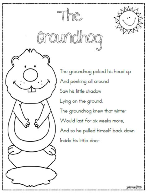 Groundhog Day Worksheets by Ground Hog Coloring Pages Printable Ground Best Free
