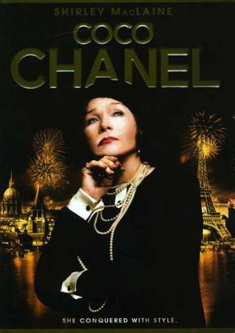 Look Shirley Maclaine As Coco Chanel by Coco Chanel Dvd 2008 Starring Malcolm Mcdowell Directed