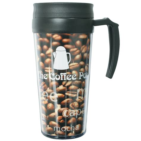 Mug Technoplast Insert Paper travel mug with paper insert item no 501973 from only 163 5 69 ready to be imprinted by 4imprint