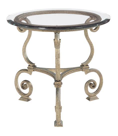 bernhardt zambrano round end table base glass top round l table glass top and base bernhardt