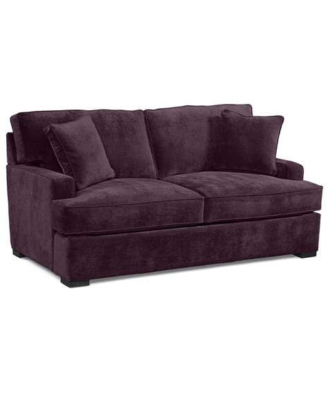 aubergine couch eggplant couch just purple pinterest