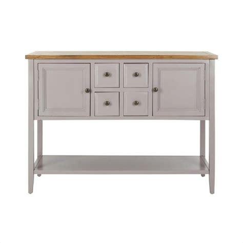 safavieh charlotte elm and pine wood sideboard in grey