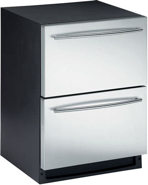 built in single drawer refrigerator u line c2275dwr 24 inch built in combo ice maker