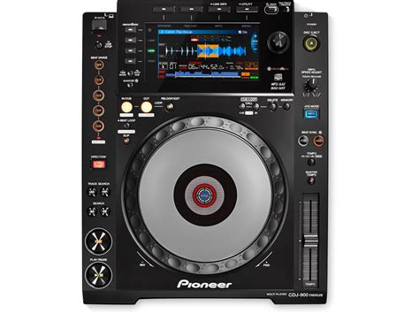 best pioneer cdj cdj 900nxs lecteur multi formats pro dj noir pioneer dj