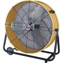 Big W Floor Fan by 23 Inch Rolling Drum Floor Fan Shop Industrial Heavy Duty