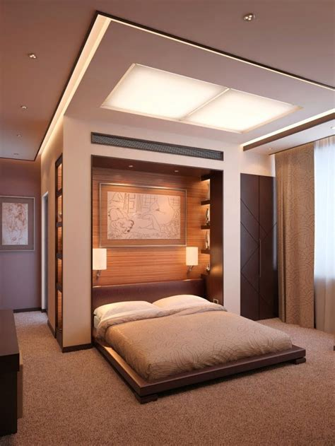 bedroom ceiling 3 false ceiling designs with built in lighting systems