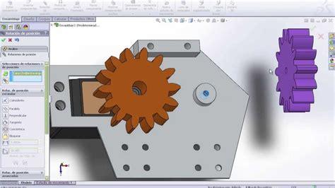 tutorial solidwork 2014 tutorial creaci 243 n de engranajes y simulaci 243 n de