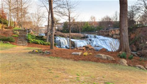 Garden Ridge Greenville South Carolina Falls Park Downtown Greenville Sc South Carolina Stock