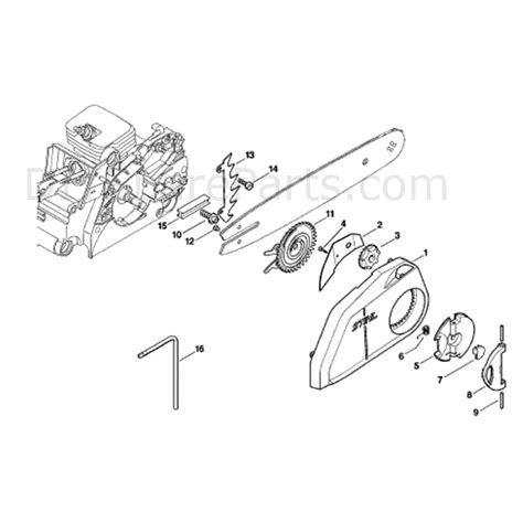 stihl 017 parts diagram stihl ms 170 chainsaw ms170 parts diagram