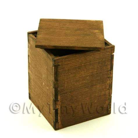 plain wooden dolls house handmade in the uk plain wood dolls house miniature crates carts boxes and displays