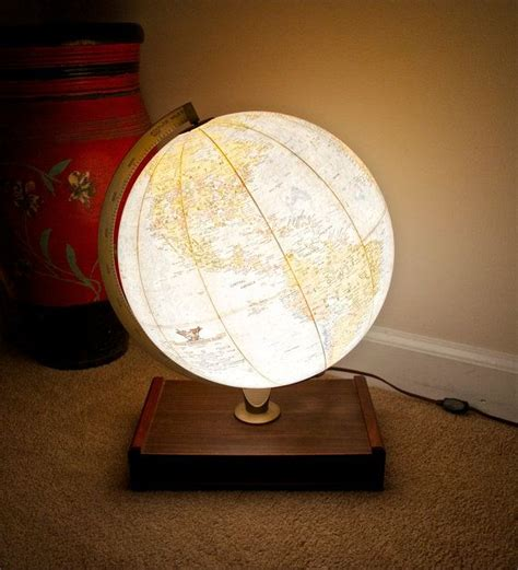 earth globes that light up 25 best ideas about globe ls on globes