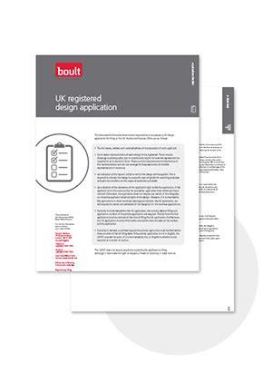 Design Application Uk | uk registered design application boult wade tennant