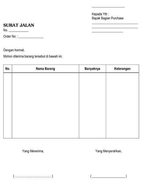 Contoh Faktur Pembelian Jasa by Contoh Faktur Surat Jalan Dan Kwitansi Barang